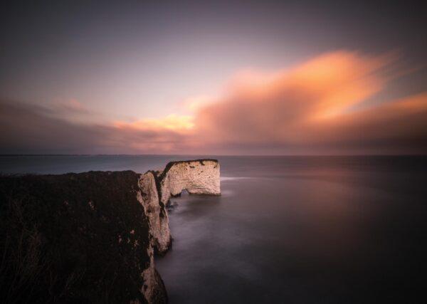 Old Harry Rocks - Sunset